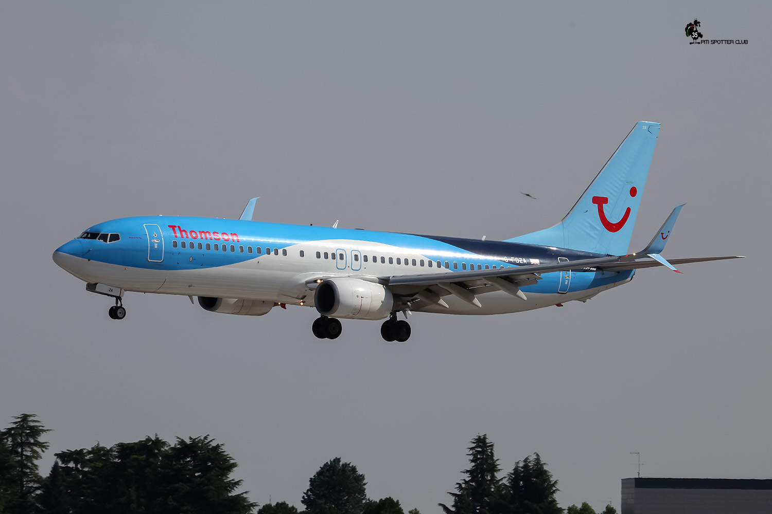 G-FDZA B737-8K5 35134/2152 Thomson Airways
