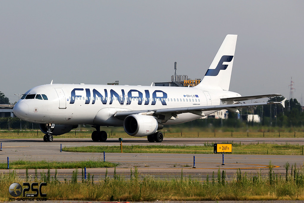 Airbus A320 - MSN 1989 - OH-LXI  Airline Finnair