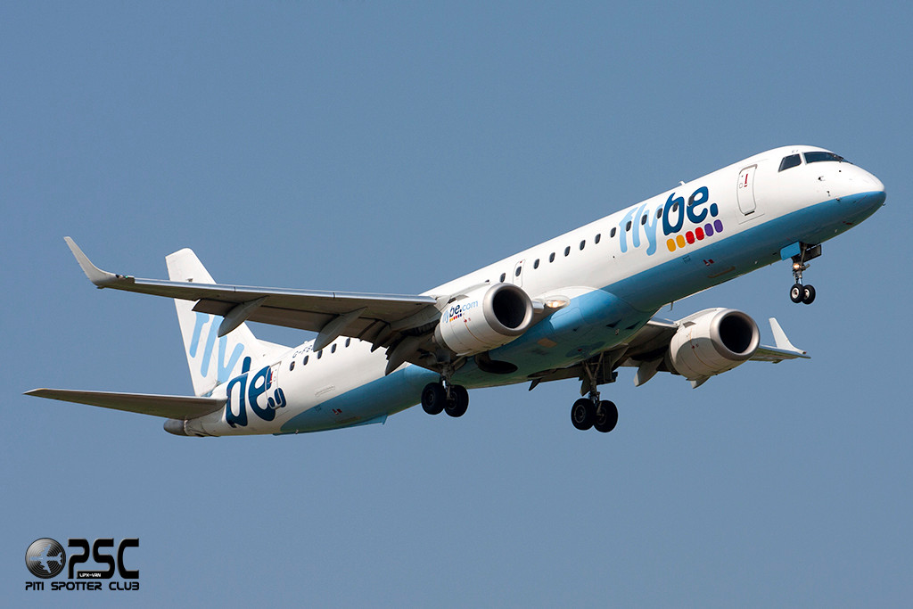 Embraer 190/195 - MSN 143 - G-FBEI  Airline Flybe