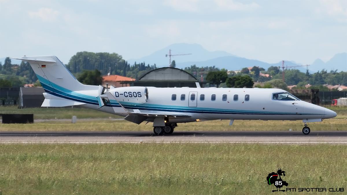 D-CSOS Learjet 45 45-161 Air Alliance Express GmbH
