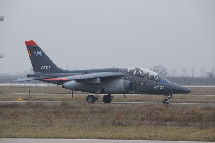 AT01   Alpha Jet 1B+  B01/1013  Beauvechain © Piti Spotter Club Verona