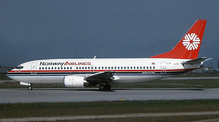 LN-NOS  B737-33A  23830/1462  Norway Airlines  @ Aeroporto di Verona © Piti Spotter Club Verona