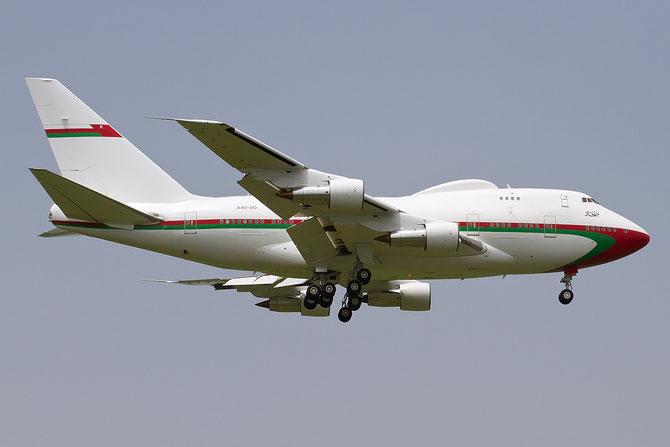 Boeing 747 - MSN 21785 - A4O-SO @ Aeroporto di Verona © Piti Spotter Club Verona