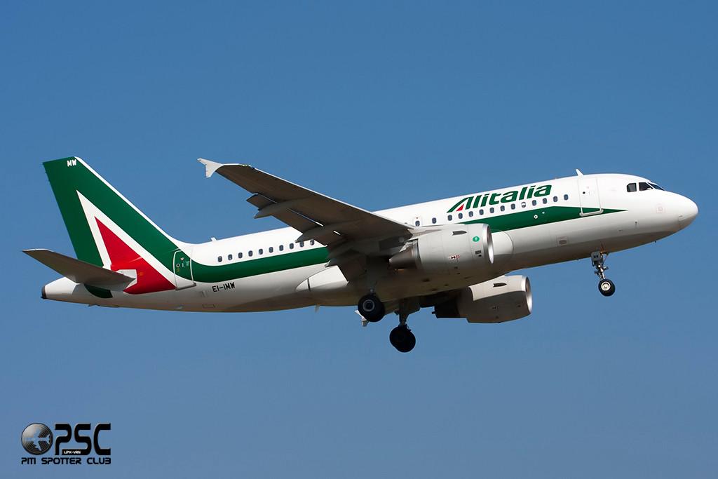Airbus A319 - MSN 5383 - EI-IMW  Airline Alitalia