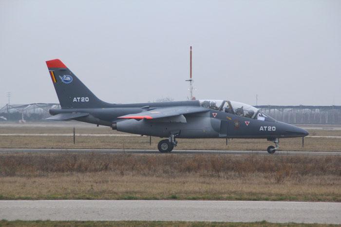 AT20   Alpha Jet 1B+  B20/1076  Cazaux © Piti Spotter Club Verona