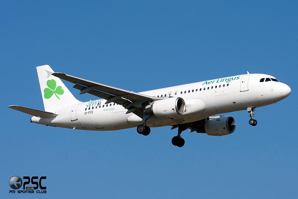Airbus A320 - MSN 1229 - EI-FCC  Airline Aer Lingus
