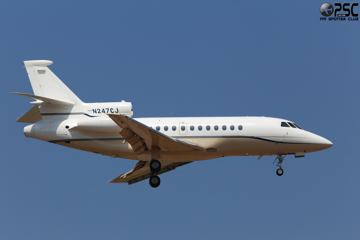 Airline: Private Aircraft: Dassault Falcon 50EX - N247CJ