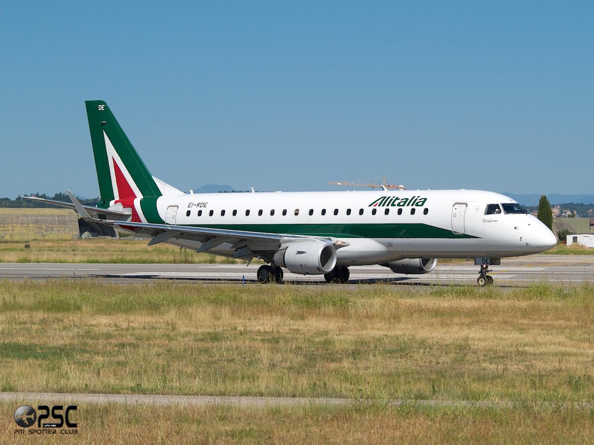 Embraer 170/175 - MSN 335 - EI-RDE  Airline Alitalia CityLiner