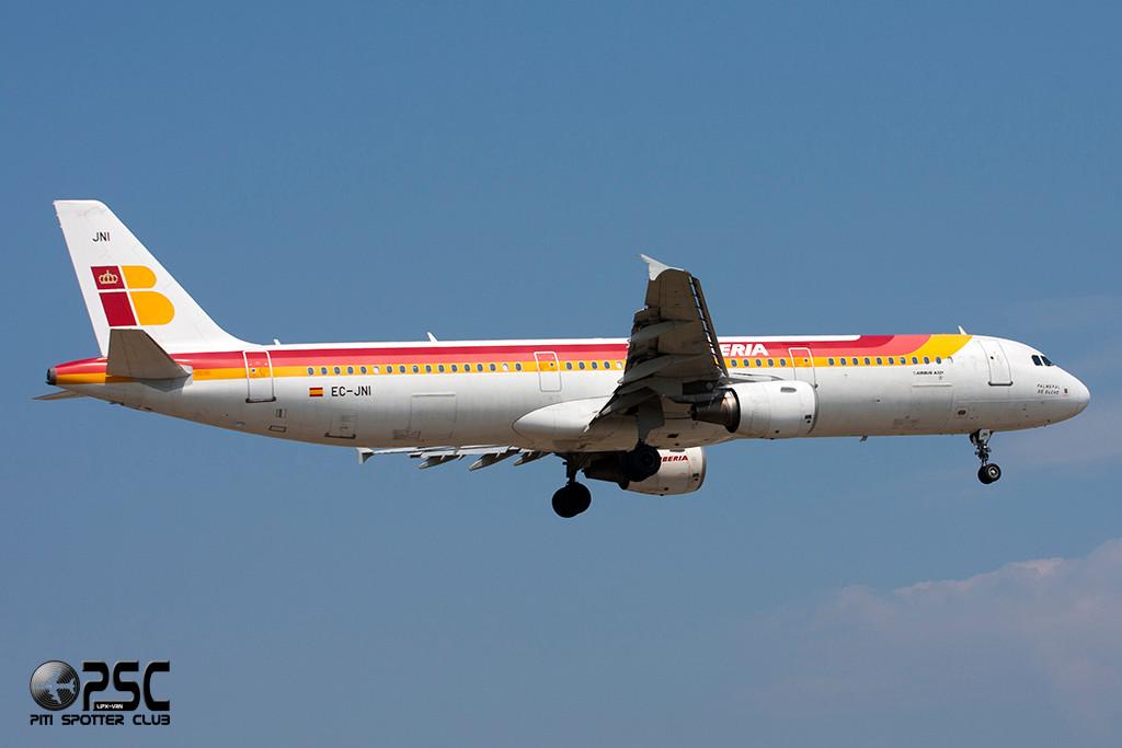 Airbus A321 - MSN 2270 - EC-JNI  Airline Iberia