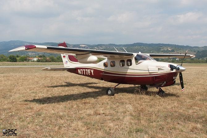 N777FY - Cessna P210N Pressurized Centurion @ Aeroporto Verona Boscomantico © Piti Spotter Club Verona