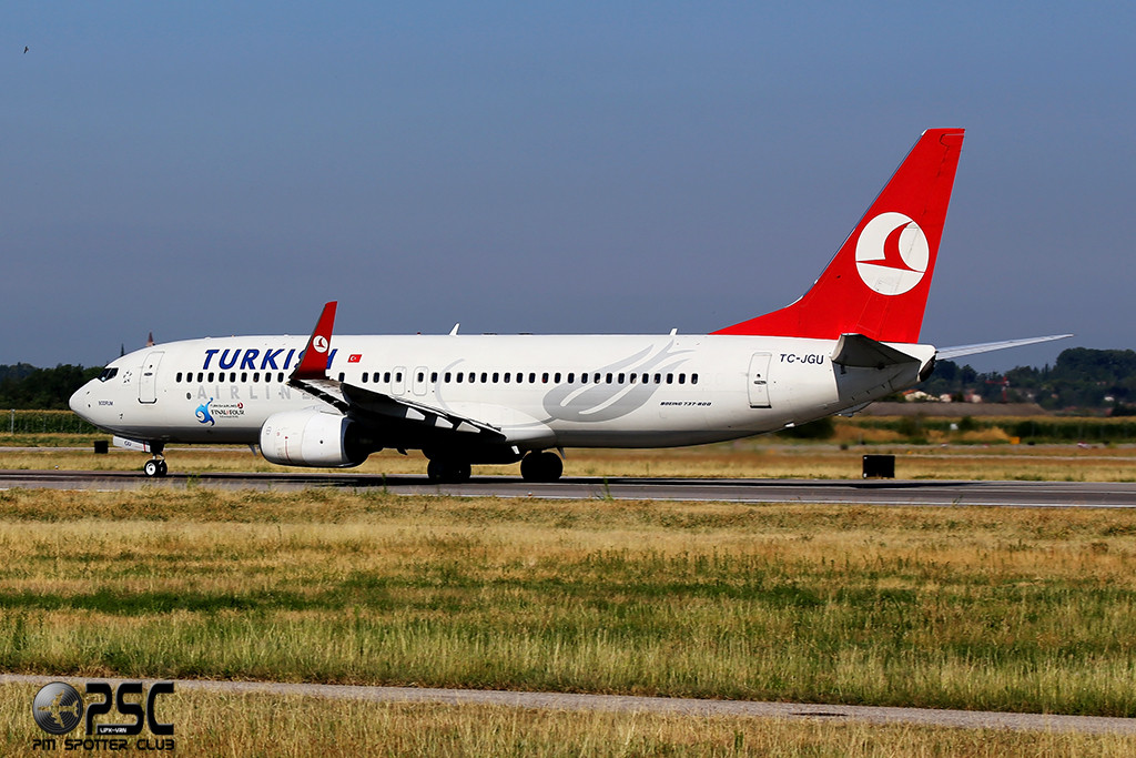 Boeing 737 Next Gen - MSN 34418 - TC-JGU  Airline THY Turkish Airlines