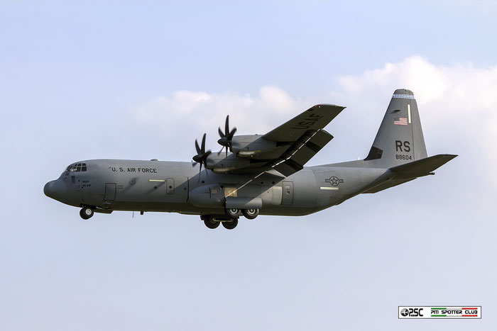 08-8604  YJ  C-130J-30  382-5612  36th AS © Piti Spotter Club Verona