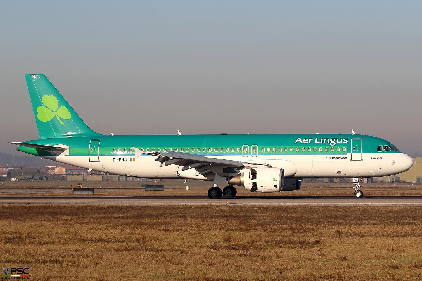 EI-FNJ A320-214 3174 Aer Lingus @ Aeroporto di Verona - 31.12.2016  © Piti Spotter Club Verona