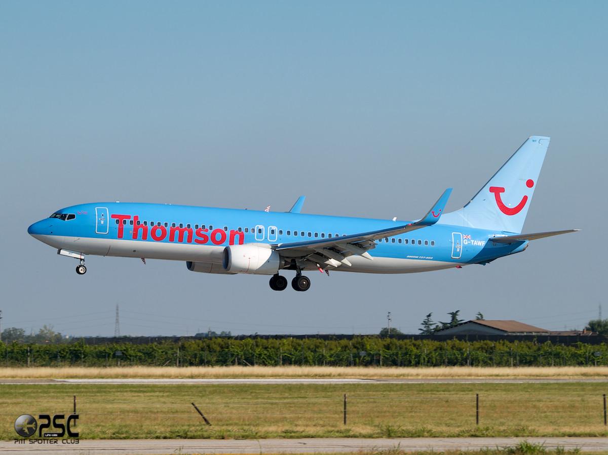 Boeing 737 Next Gen - MSN 37244 - G-TAWF  Airline Thomson Airways