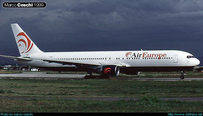 I-AEIY  B767-330ER  25208/381  Air Europe Italy @ Aeroporto di Verona © Piti Spotter Club Verona