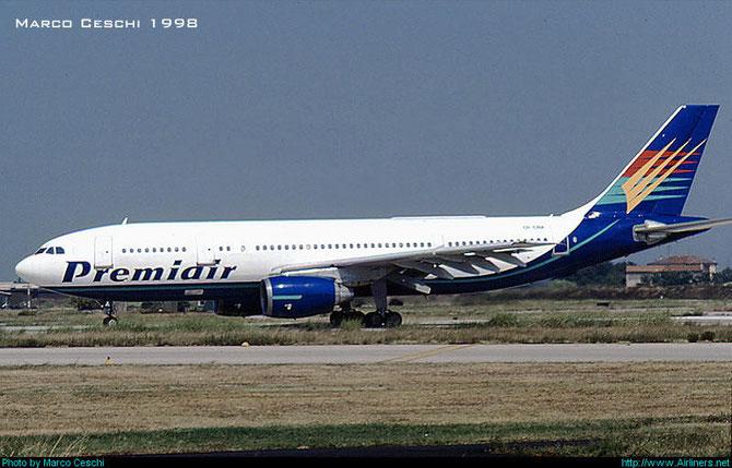 OY-CNA  A300B4-120  79  Premiair  @ Aeroporto di Verona © Piti Spotter Club Verona