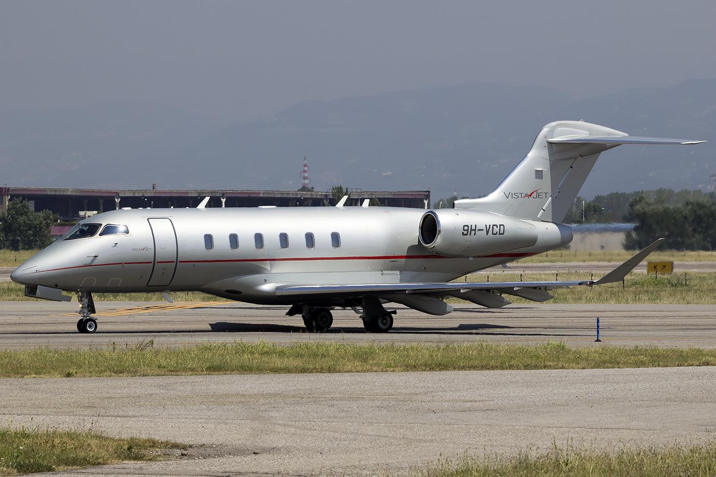 9H-VCD CL-350 20538 VistaJet Malta