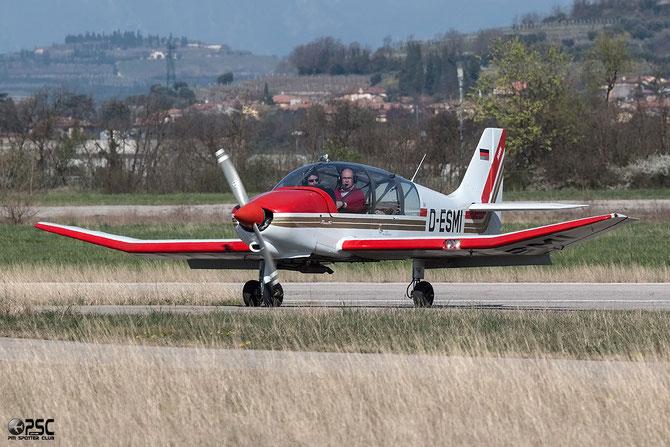 D-ESMI Robin DR-400-180R Remo 180 @ Aeroporto Verona Boscomantico © Piti Spotter Club Verona