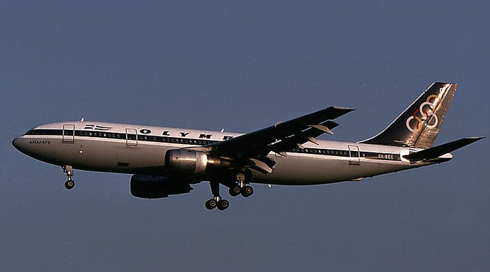 SX-BEC  A300B4-103  56  Olympic Airways  @ Aeroporto di Verona © Piti Spotter Club Verona