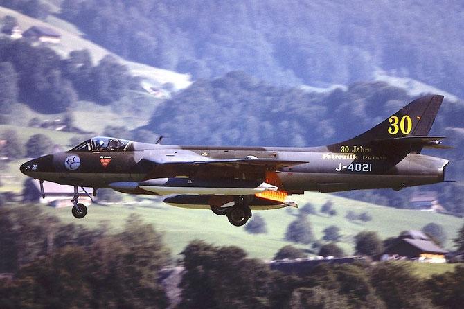 J-4021   Hunter F58  41H-691770 © Piti Spotter Club Verona