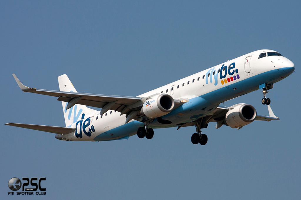 Embraer 190/195 - MSN 104 - G-FBEF  Airline Flybe