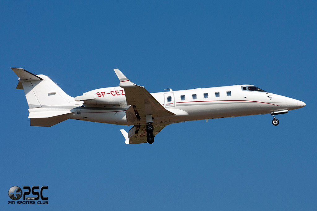 Private - Bombardier Learjet 60 - SP-CEZ - CN 60-342