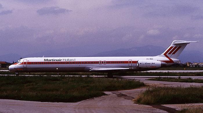 PH-MBZ  MD-82  49144/1096  Martinair  @ Aeroporto di Verona © Piti Spotter Club Verona