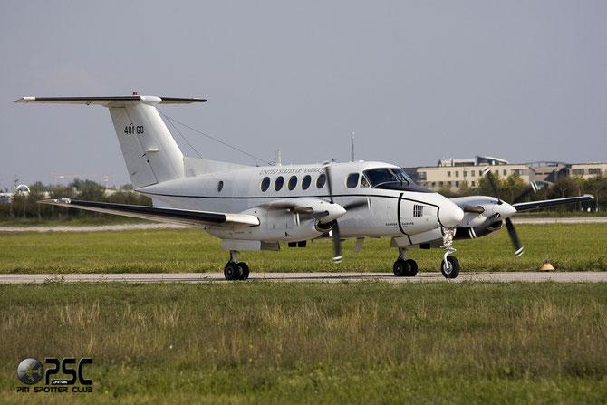 United States - US Army - Beechcraft C-12U Huron - 84 00160 @ Aeroporto di Verona © Piti Spotter Club Verona