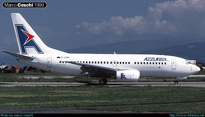 EI-CRP  B737-73S  29078/187  Azzurra Air  @ Aeroporto di Verona © Piti Spotter Club Verona