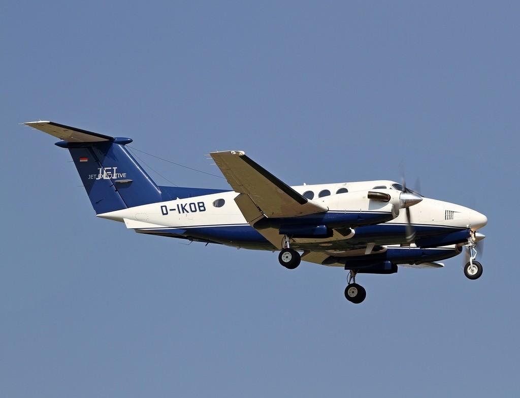 Jet Executive - Beechcraft B200 Super King Air - D-IKOB - CN: BB-921