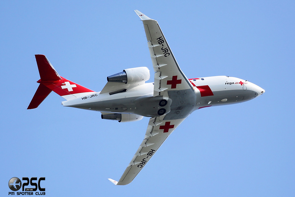 REGA - Swiss Air Ambulance Canadair CL-600-2B16 Challenger 604 - HB-JRC