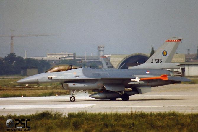 J-515   F-16AM  6D-154  312sq @ Aeroporto di Verona   © Piti Spotter Club Verona