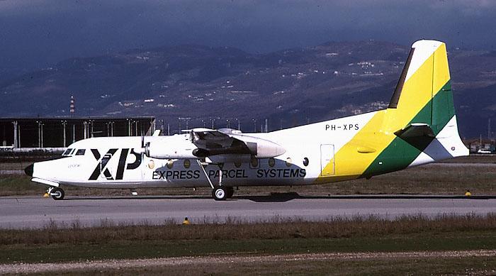 PH-XPS Fokker F-27-400 Friendship F27 10338 XP Parcel Services @ Aeroporto di Verona © Piti Spotter Club Verona