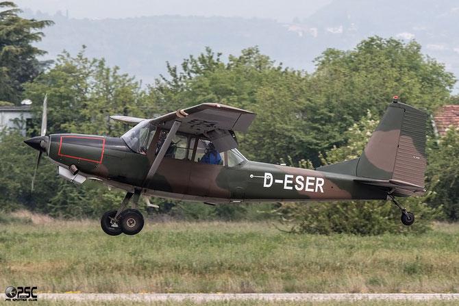 D-ESER SIAI-Marchetti SM-1019A @ Aeroporto Verona Boscomantico © Piti Spotter Club Verona