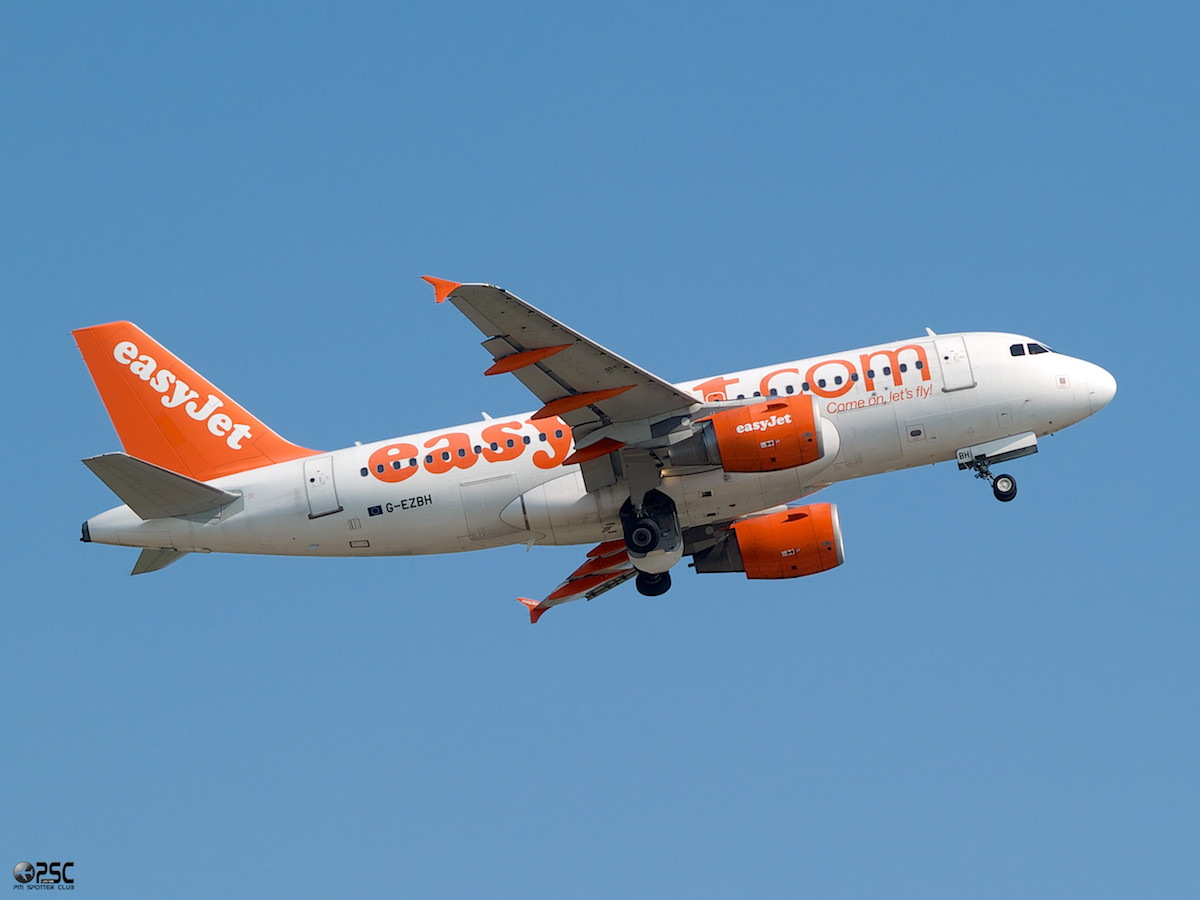 Airbus A319 - MSN 2959 - G-EZBH  Airline EasyJet