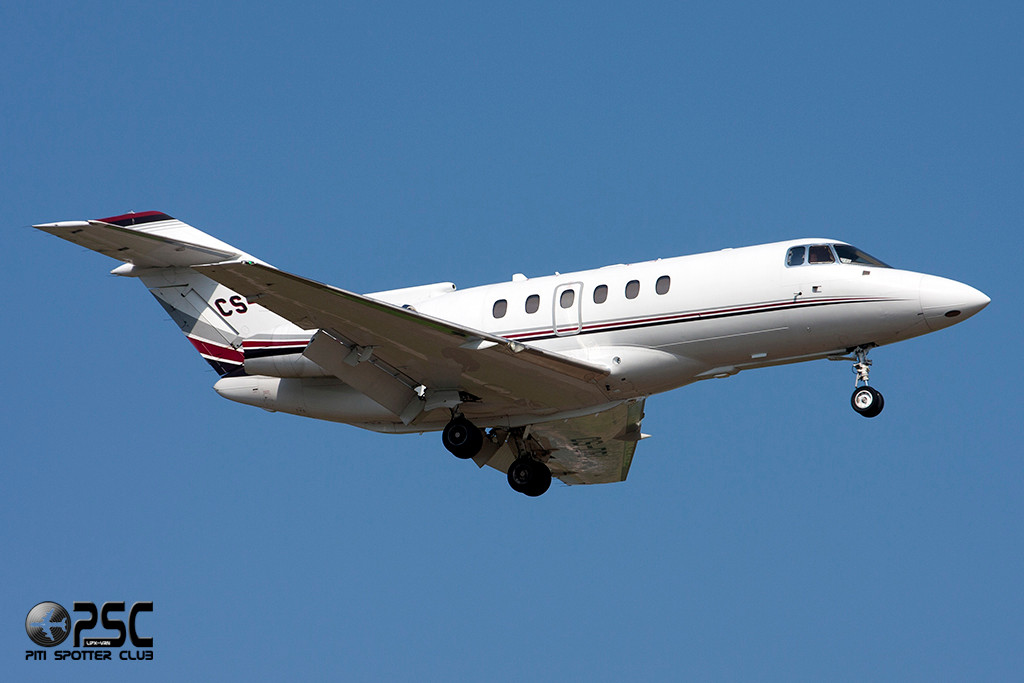 NetJets Europe - Raytheon Hawker 800XP  CS-DRI