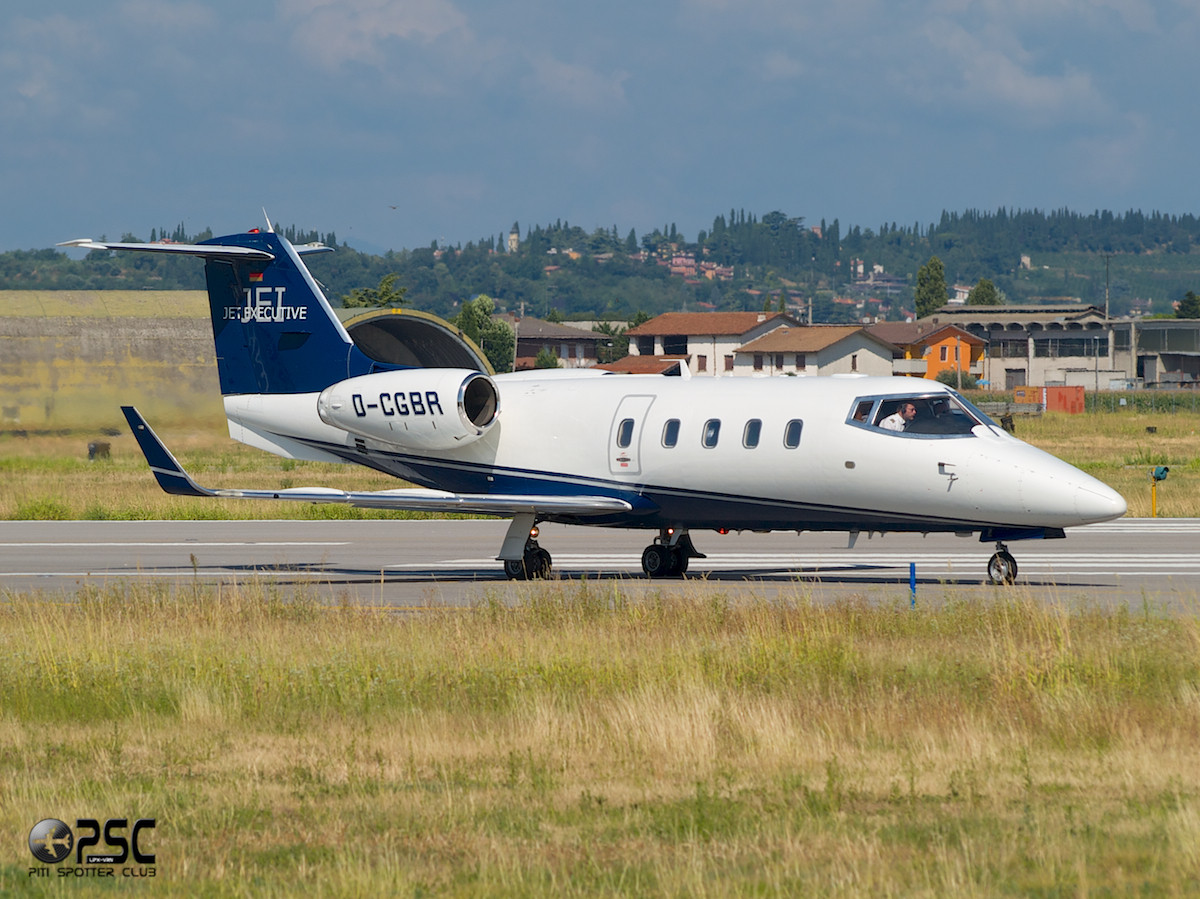 Jet Executive International Charter - Bombardier Learjet 55 - D-CGBR - CN: 55-122