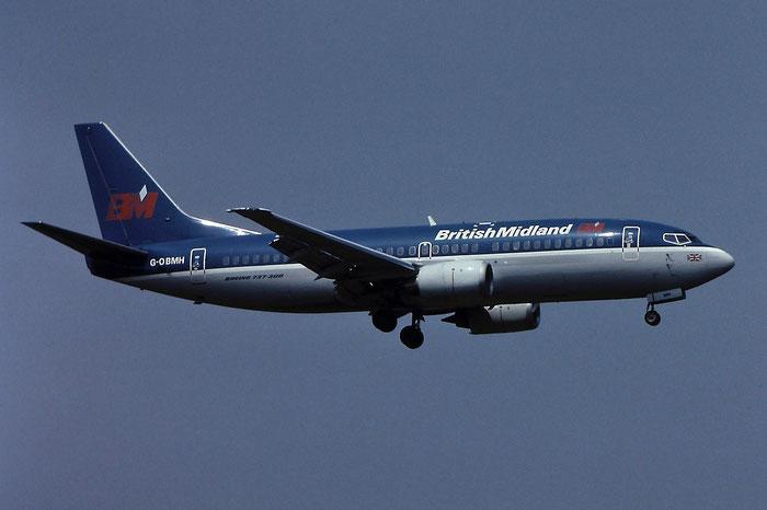 G-OBMH B737-33A 24460/1831 BMA - British Midland Airways @ Aeroporto di Verona - © Piti Spotter Club Verona
