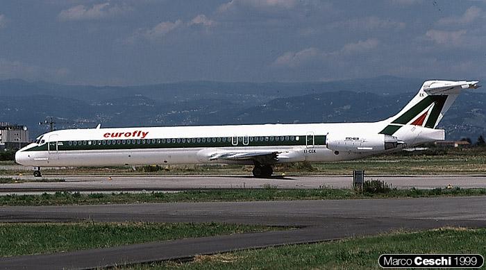 EI-CEK  MD-83  49631/1596  Eurofly  @ Aeroporto di Verona © Piti Spotter Club Verona