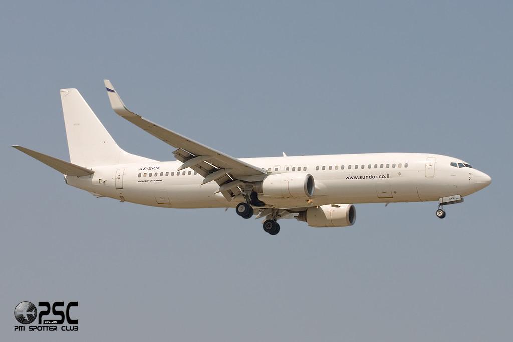 Boeing 737 Next Gen - MSN 30465 - 4X-EKM  Airline El Al