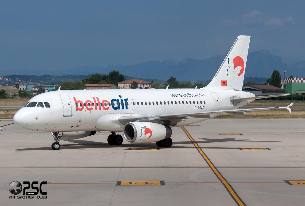 Airbus A319 - MSN 1098 - F-ORAG  Airline Belle Air