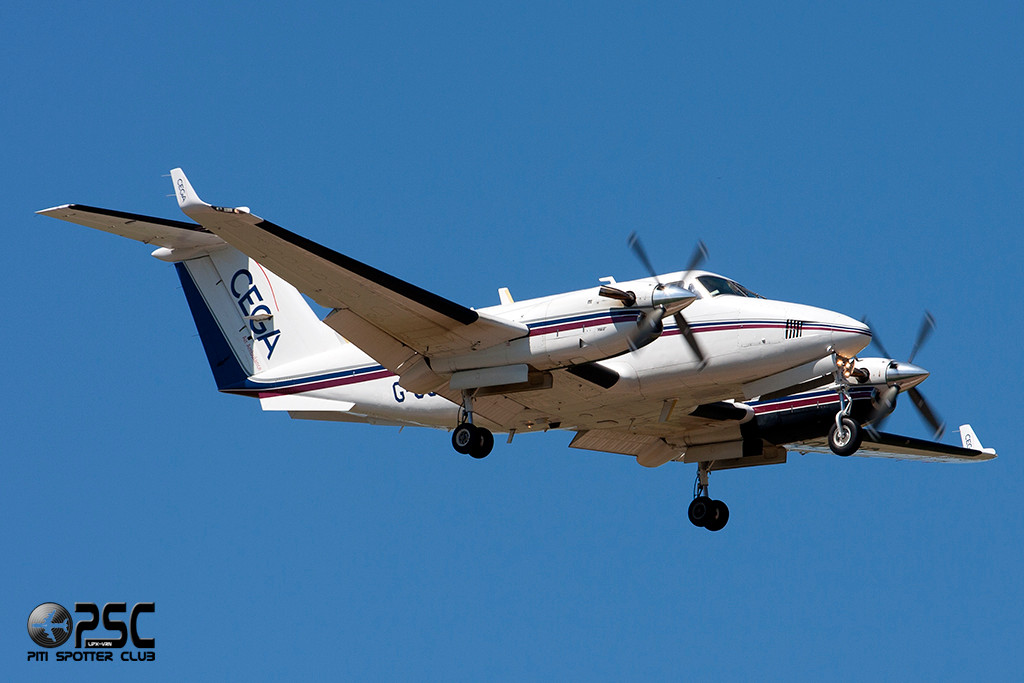 CEGA Air Ambulance - Beechcraft B200 Super King Air - G-OCEG - CN: BB-588