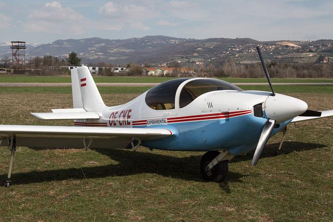 OE-CKE - Europa Aircraft Europa (Classic) @ Aeroporto Verona Boscomantico © Piti Spotter Club Verona