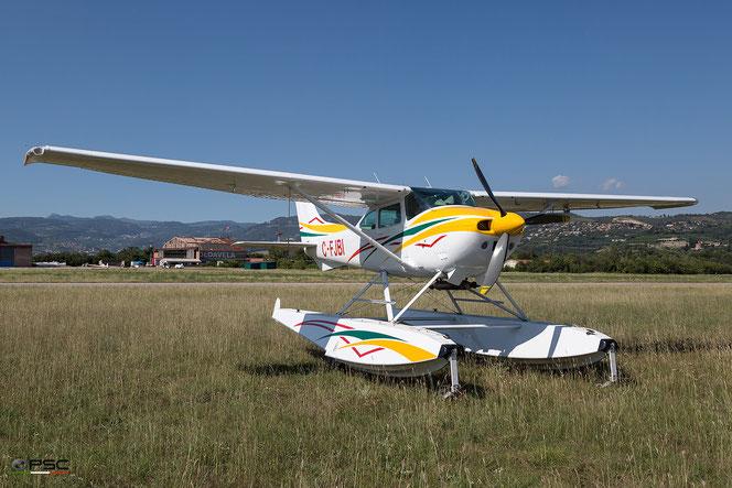 C-FJBI Cessna C182 Idro @ Aeroporto Verona Boscomantico © Piti Spotter Club Verona