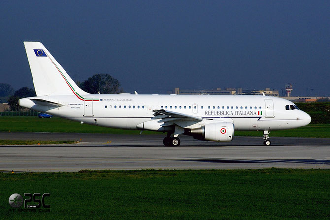 MM2243 - Italy - Air Force Airbus A319-115X(CJ) - MM62243 @ Aeroporto di Verona © Piti Spotter Club Verona