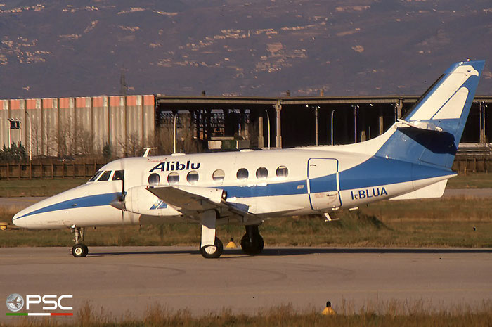 I-BLUA  BAe3109  720  Aliblu Airways  @ Aeroporto di Verona © Piti Spotter Club Verona