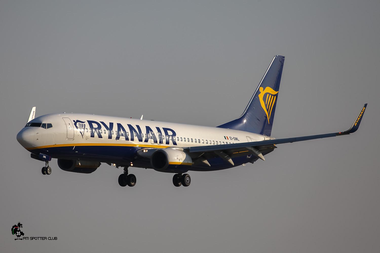 EI-DWL B737-8AS 33618/2416 Ryanair @ Aeroporto di Verona - 27/08/2016 © Piti Spotter Club Verona