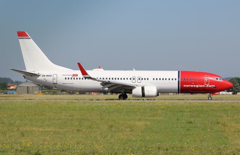 LN-NGQ B737-8JP 39027/4729 Norwegian