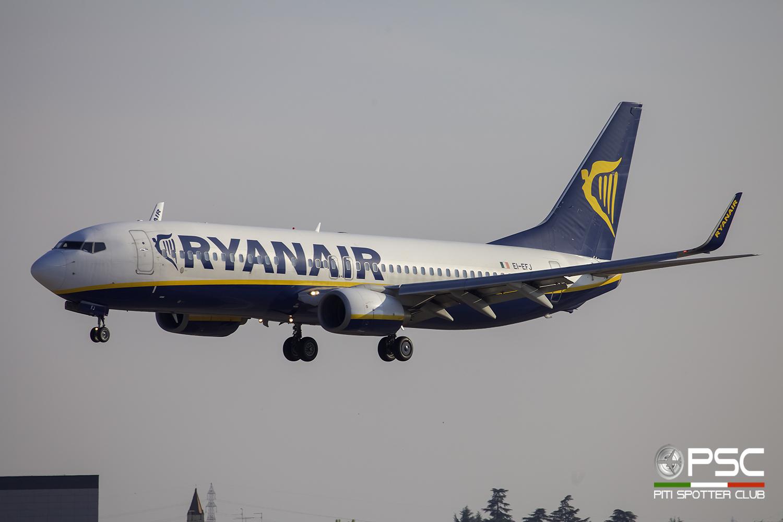 EI-EFJ B737-8AS 37536/2936 Ryanair @ Aeroporto di Verona - 24/09/2016 © Piti Spotter Club Verona