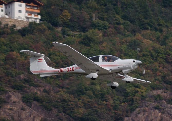 OE-DAR - Diamond DA-40D Diamond Star TDI - Private @ Aeroporto di Bolzano © Piti Spotter Club Verona